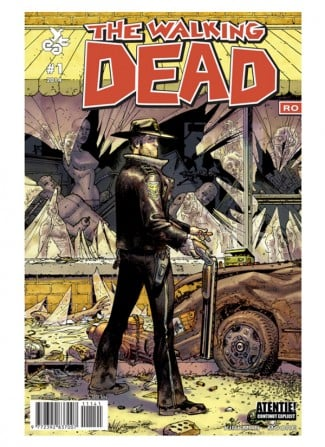 comics The walking dead