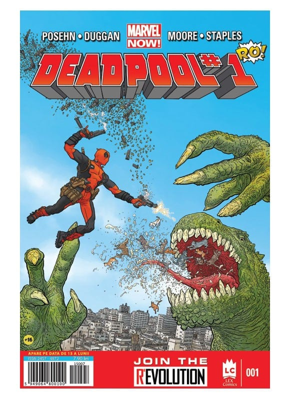 Revista Deadpool #1