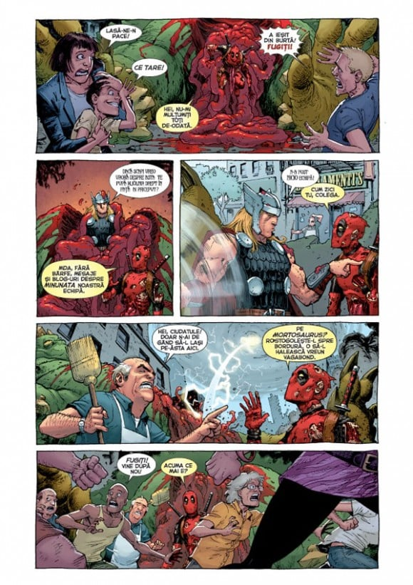 Deadpool in benzi desenate #1