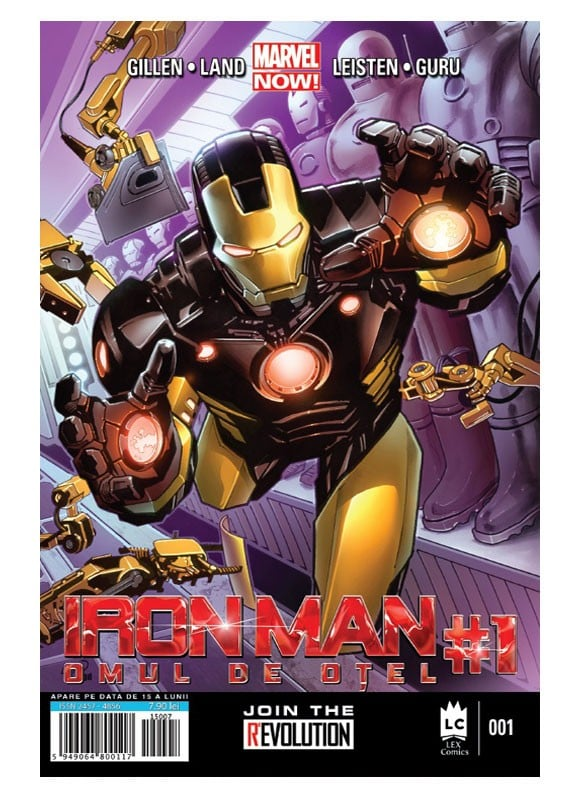 Revista Iron Man #1