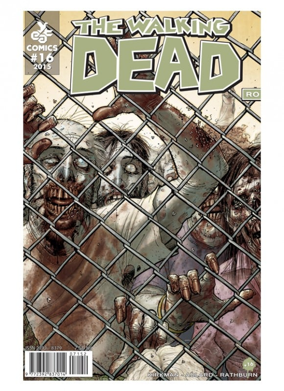Revista de banda desenata The Walking Dead #16 - coperta