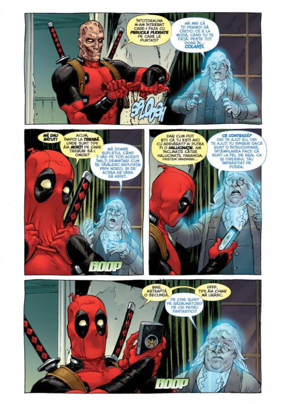 Deadpool #2 în benzi desenate