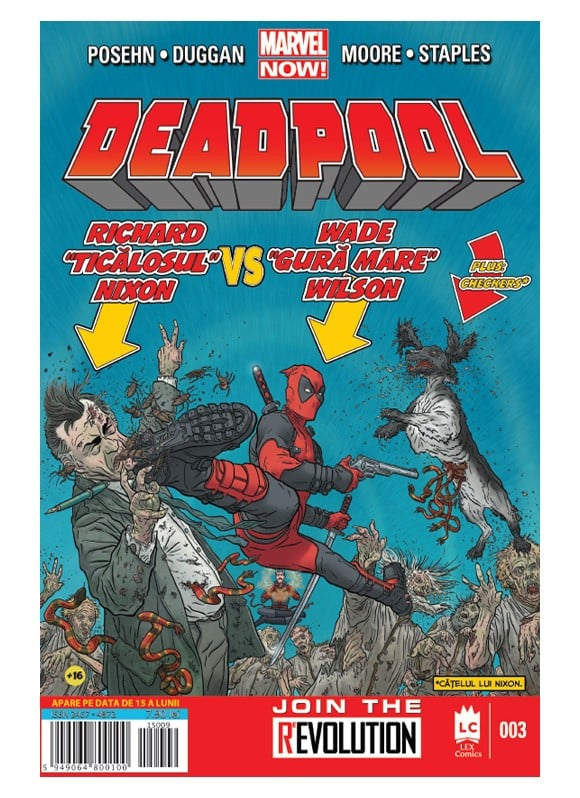 Deadpool #3 - coperta