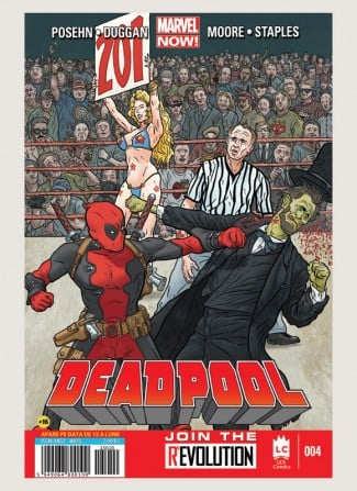 Marvel Comics Deadpool 4