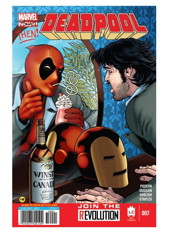 Deadpool no 7 coperta
