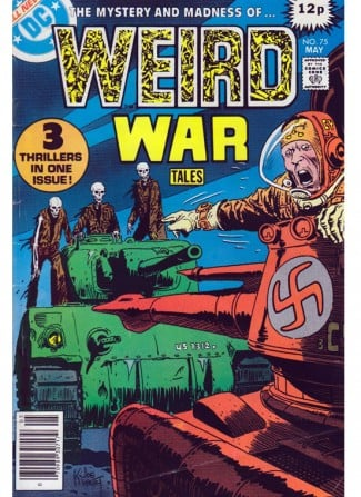 DC comics Weird War Tales
