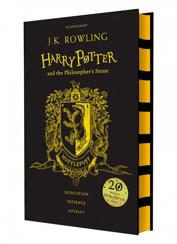 harry potter hardcover aniversary 20 years hafflepuff