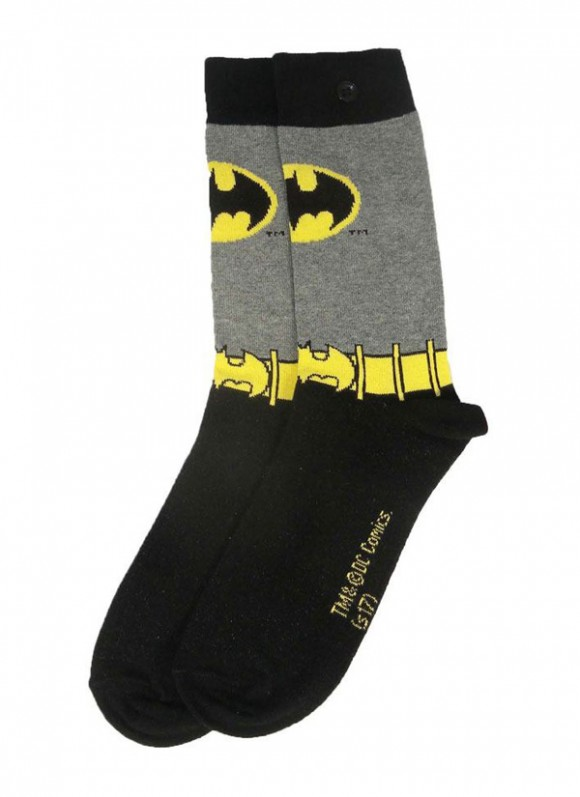 DC-Comics-Ladies-Socks-2-Pack-Batman-Purple-3