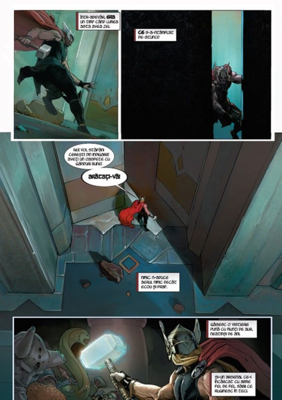 Thor in benzi desenate #1