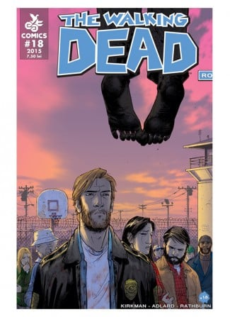 Revista de banda desenata The Walking Dead #18 - coperta