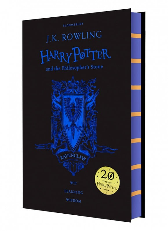harry potter hardcover aniversary 20 years ravenclaw