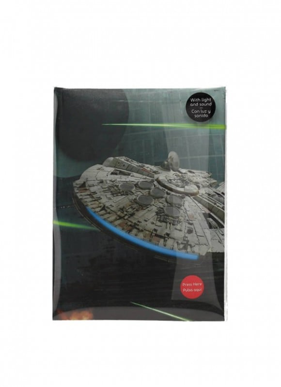 Star-Wars-Notebook-with-Sound-&-Light-Up-Millenium-Falcon-2