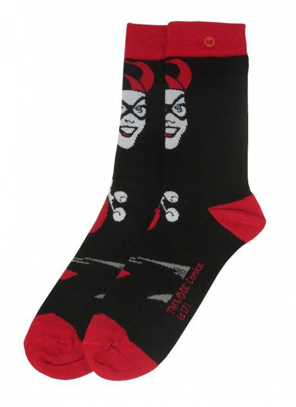 DC-Comics-Ladies-Socks-2-Pack-Harley-Quinn3