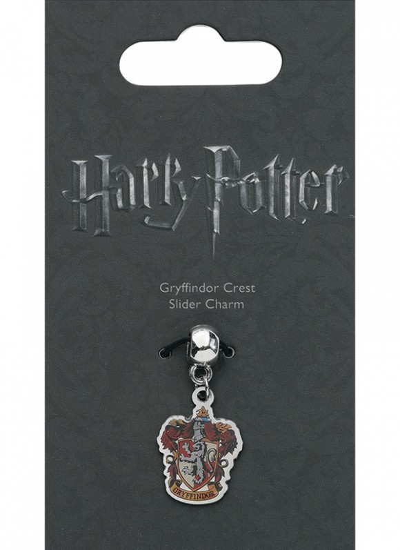 Harry Potter Charm Gryffindor Crest (silver plated)1