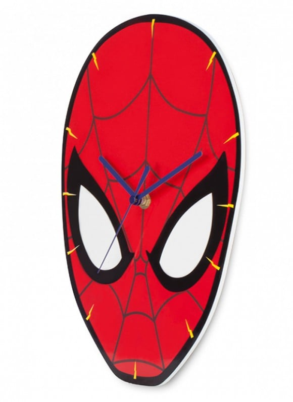 Spider-Man Shaped Wall Clock Spidey2