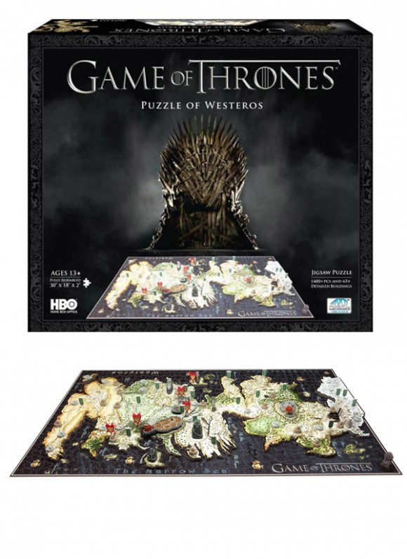 Puzzle Game of Thrones Harta WesterosC