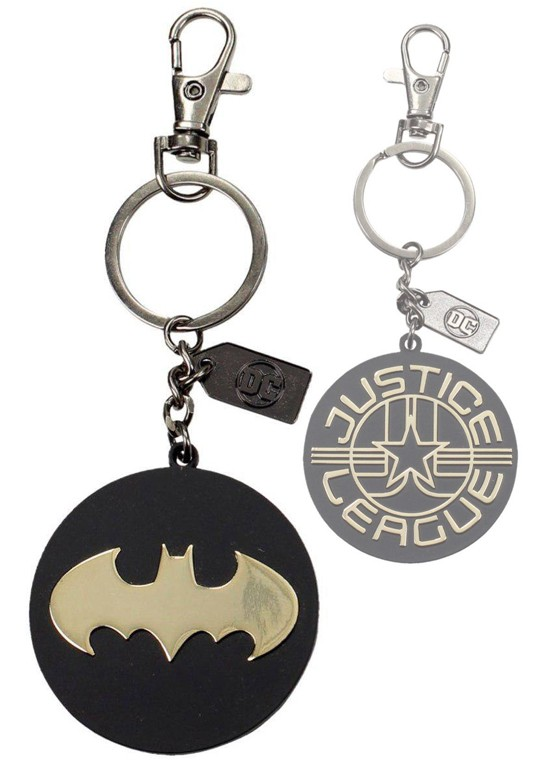 Justice-League-Metal-Keychain-Batman-Golden-Logo1