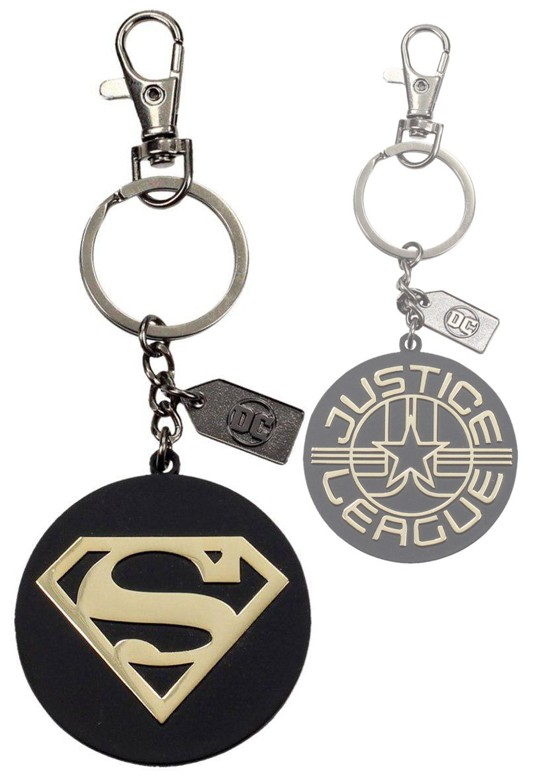Justice-League-Metal-Keychain-Superman-Golden-Logo1