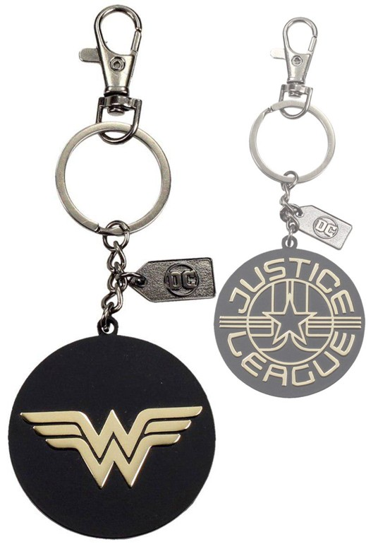 Justice-League-Metal-Keychain-Wonder-Woman-Golden-Logo1