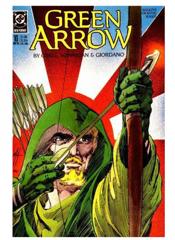 Green_Arrow_Vol_2_nr 10din10_1988 – toate 75 lei