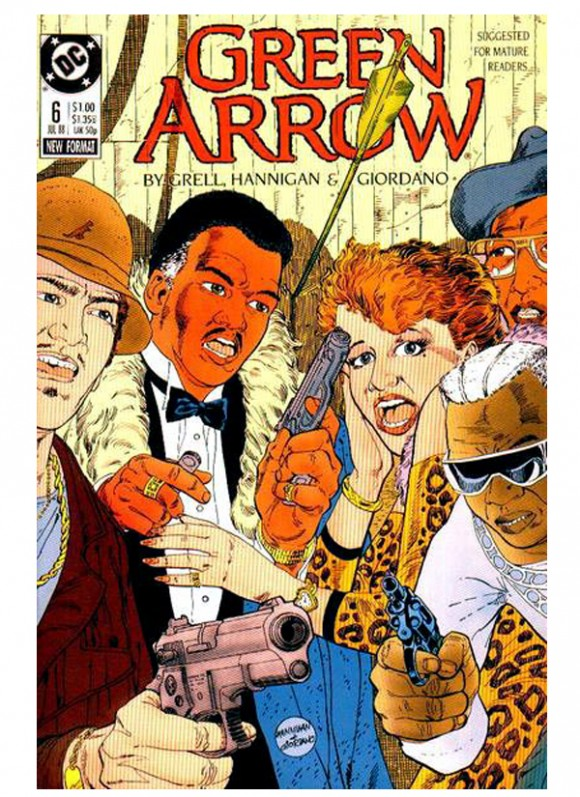 Green_Arrow_Vol_2_nr 6din10_1988 – toate 75 lei