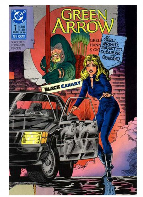 Green_Arrow_Vol_2_nr 7din10_1988 – toate 75 lei