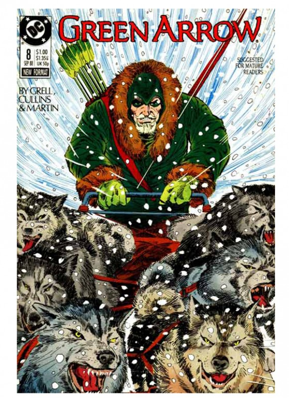 Green_Arrow_Vol_2_nr 8 din10_1988 – toate 75 lei